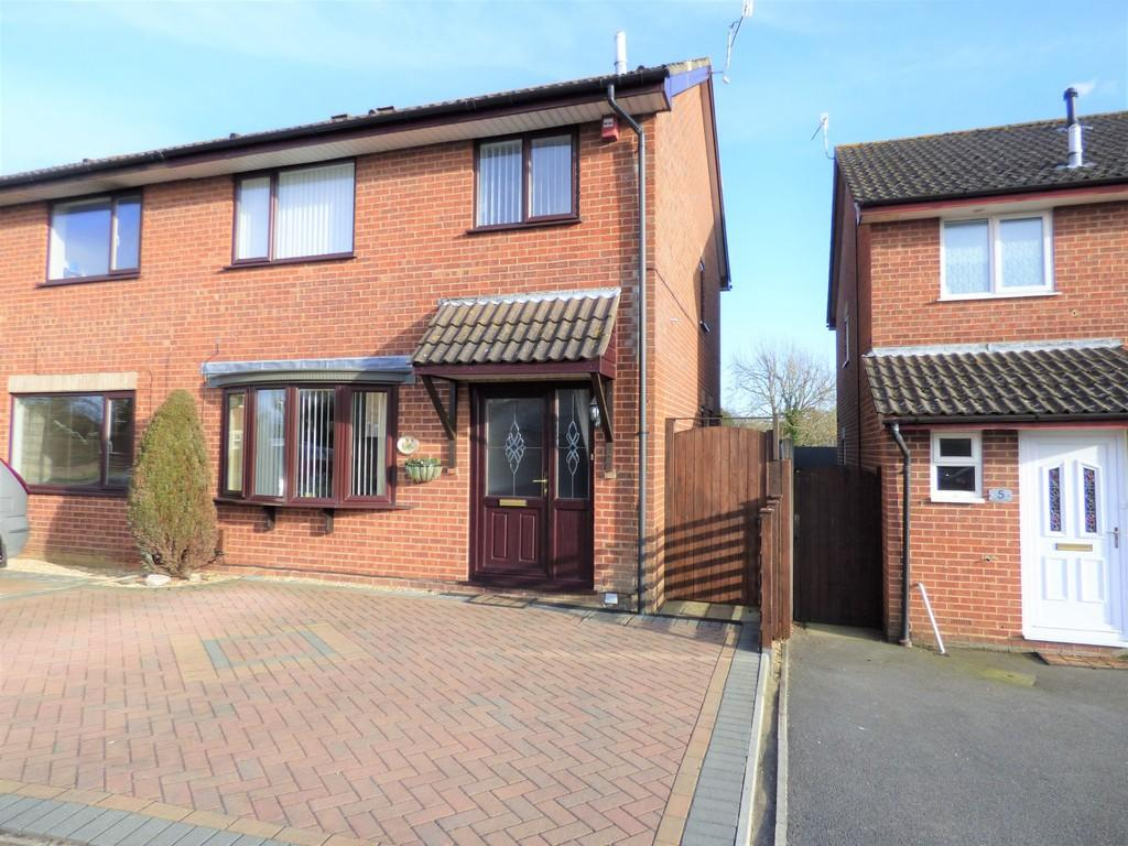 3 Bedrooms Semi Detached House for sale in Old Kiln Road, Upton, Poole