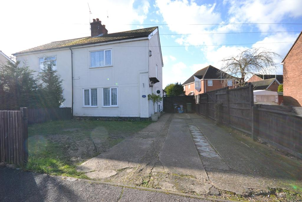 3 Bedrooms Semi Detached House for sale in Wood Road, Heybridge, Maldon, CM9