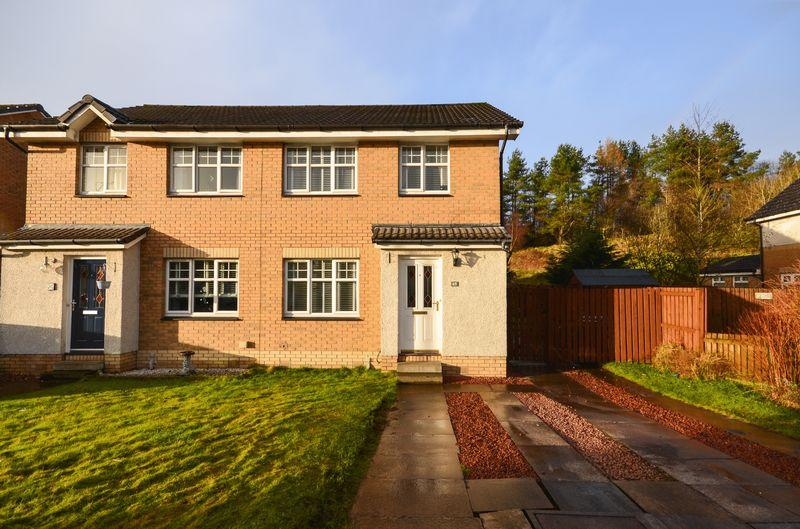 3 Bedrooms Semi Detached House for sale in South Dumbreck Road, Kilsyth