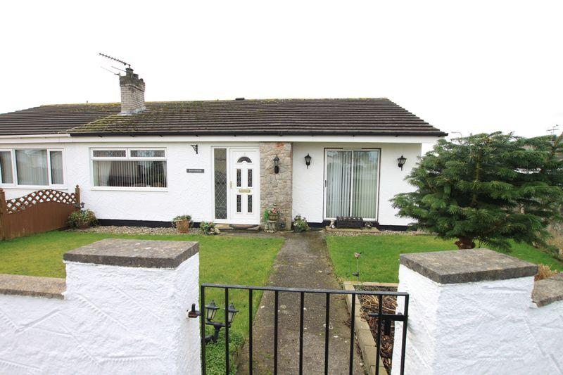4 Bedrooms Semi Detached Bungalow for sale in Gaerwen, Anglesey