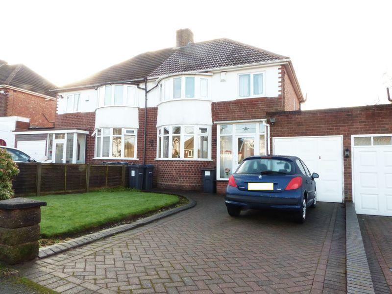 3 Bedrooms Semi Detached House for sale in Lindens Drive, Sutton Coldfield