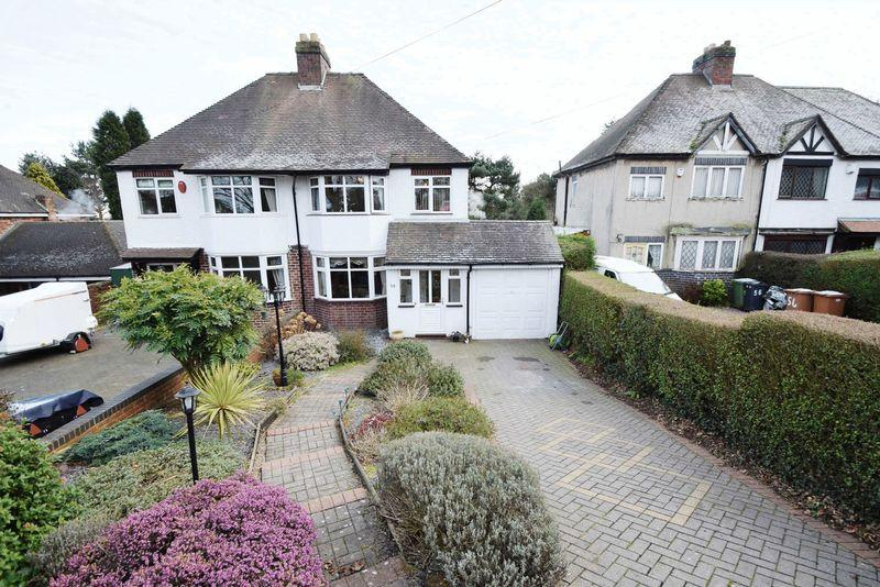 3 Bedrooms Semi Detached House for sale in Lichfield Road, Sandhills, Walsall
