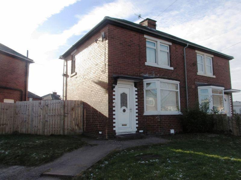 2 Bedrooms Semi Detached House for rent in Strawberry Gardens, Wallsend - Two Bedroom Semi Detached House