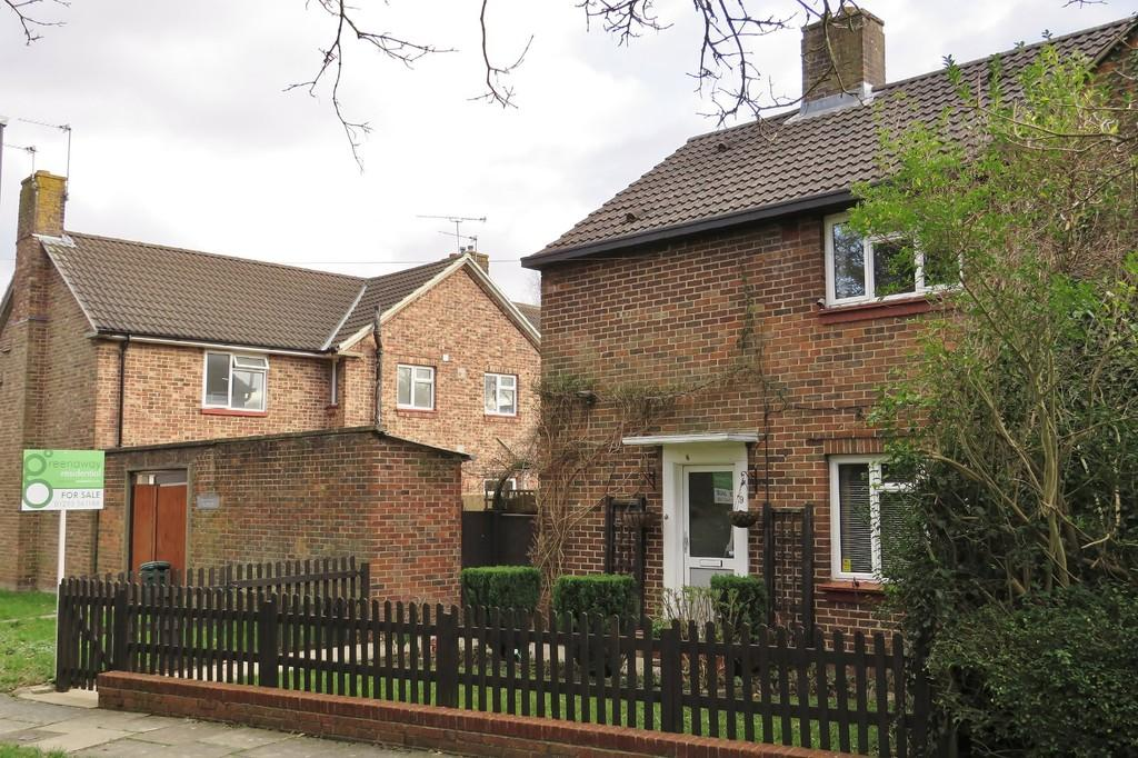 2 Bedrooms Semi Detached House for sale in Northgate, Crawley, RH11