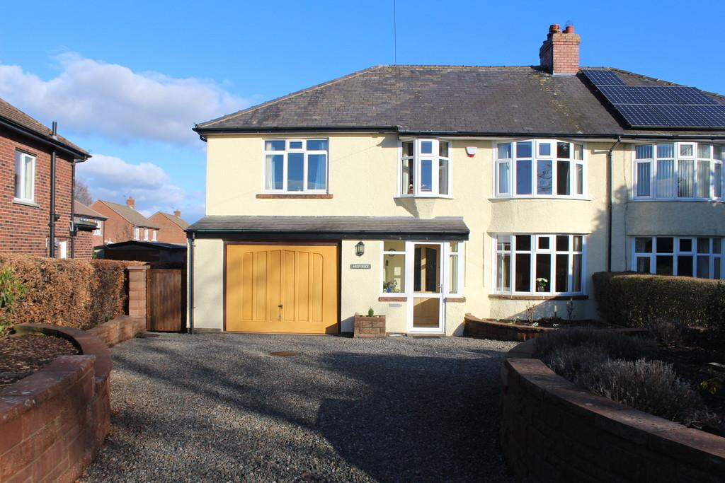 5 Bedrooms Semi Detached House for sale in Park Road, Scotby