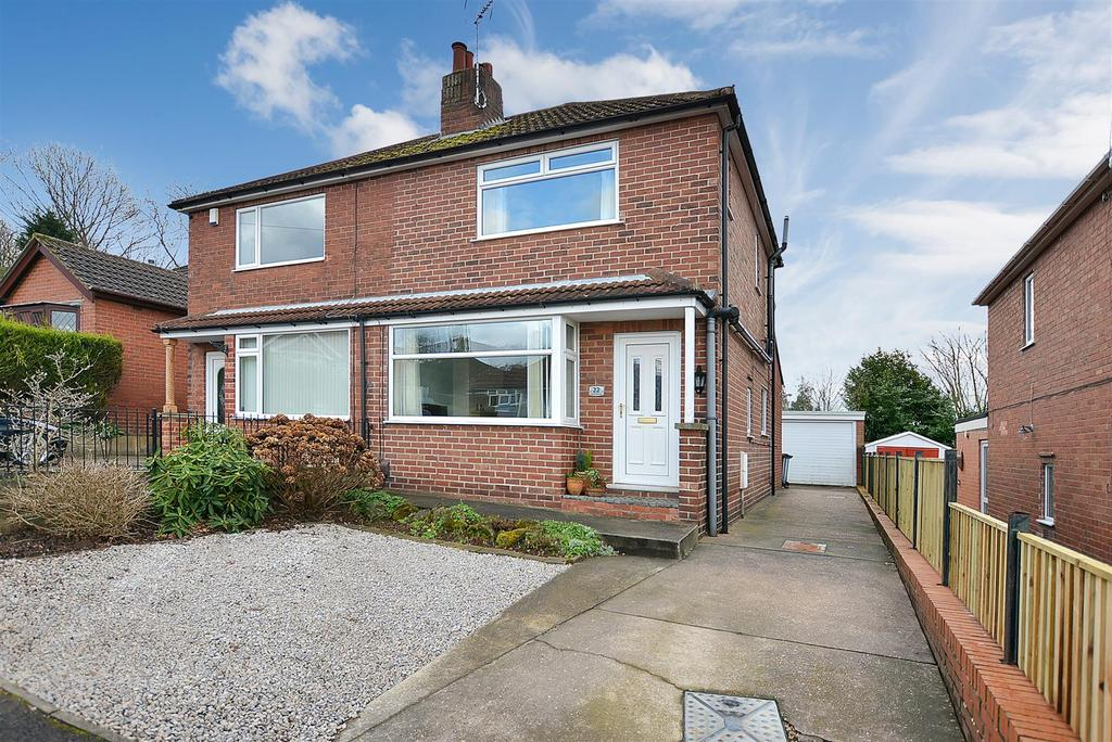 2 Bedrooms Semi Detached House for sale in Louwil Avenue, Mansfield Woodhouse
