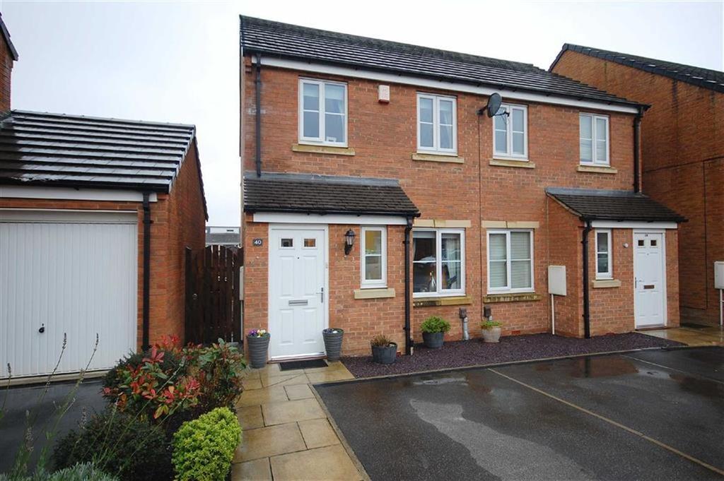 2 Bedrooms Semi Detached House for sale in Whinmoor Way, Swarcliffe, Leeds, LS14