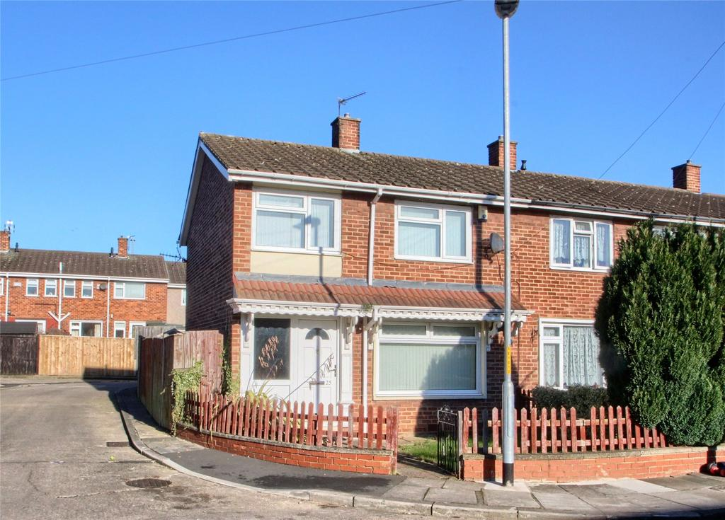 3 Bedrooms End Of Terrace House for sale in Ebchester Close, Hardwick