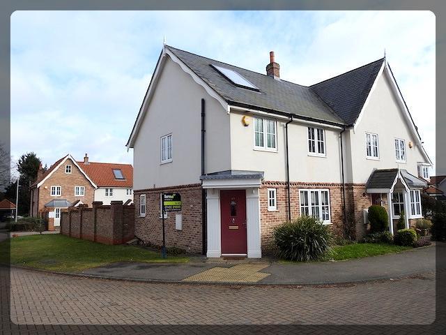 3 Bedrooms Semi Detached House for rent in St Marys Walk, Queensbury Way, Swanland, East Yorkshire, HU14 3BJ