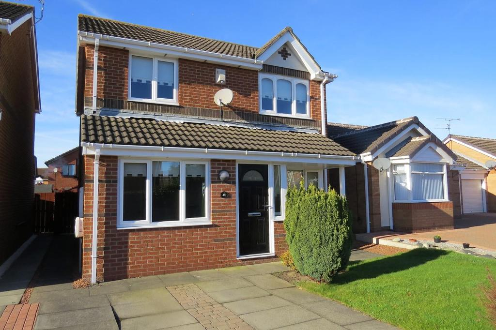 3 Bedrooms Detached House for sale in Grousemoor Drive, Fallowfield Estate, Ashington