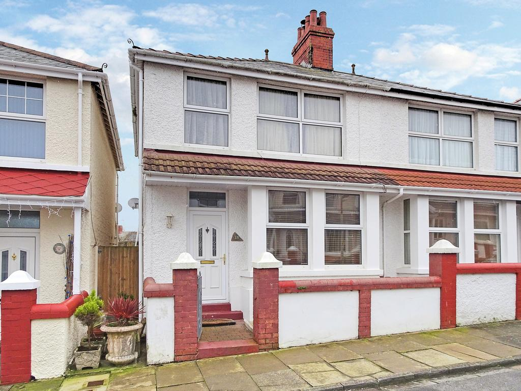 3 Bedrooms Semi Detached House for sale in LEWIS PLACE, PORTHCAWL, CF36 3EG