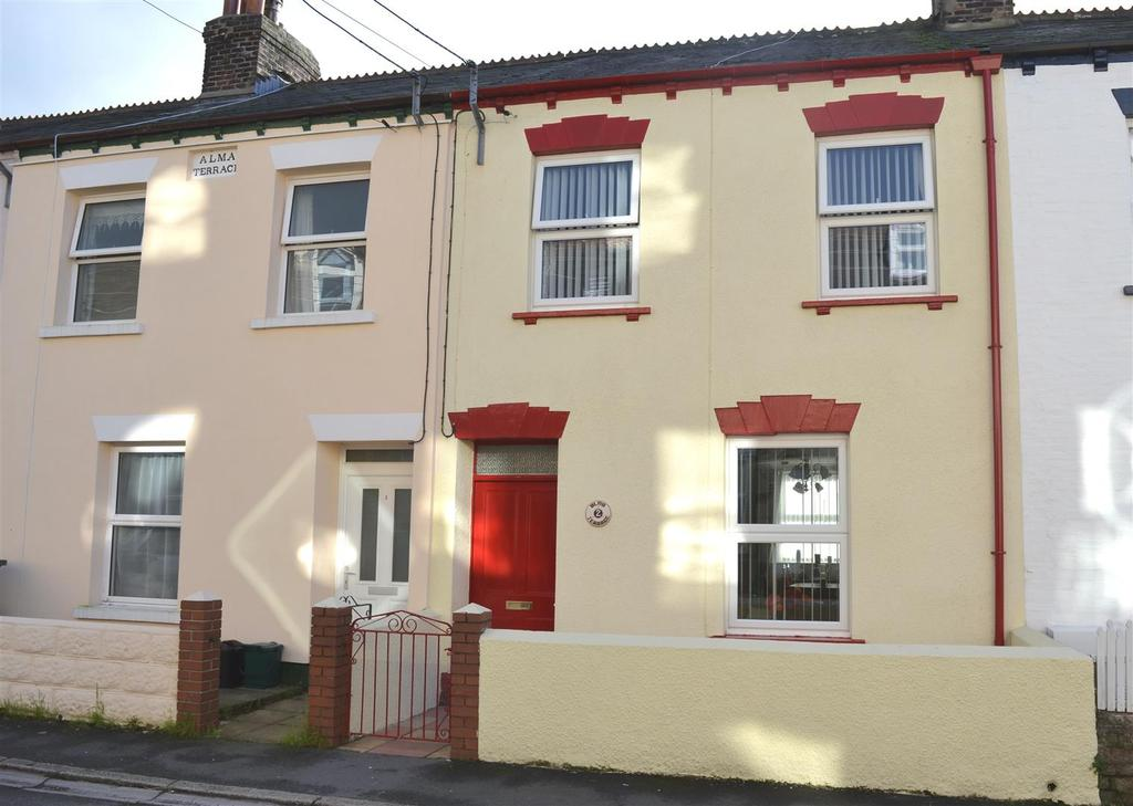 2 Bedrooms Terraced House for sale in Barbican Road, Barnstaple