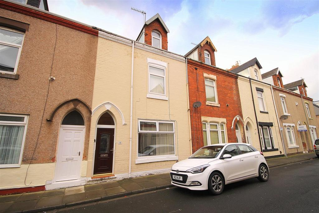 4 Bedrooms Terraced House for sale in Kilwick Street, Hartlepool