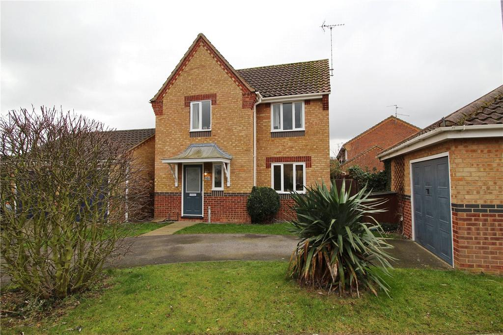 3 Bedrooms Detached House for sale in Buttercup Court, Deeping St. James, Peterborough, PE6