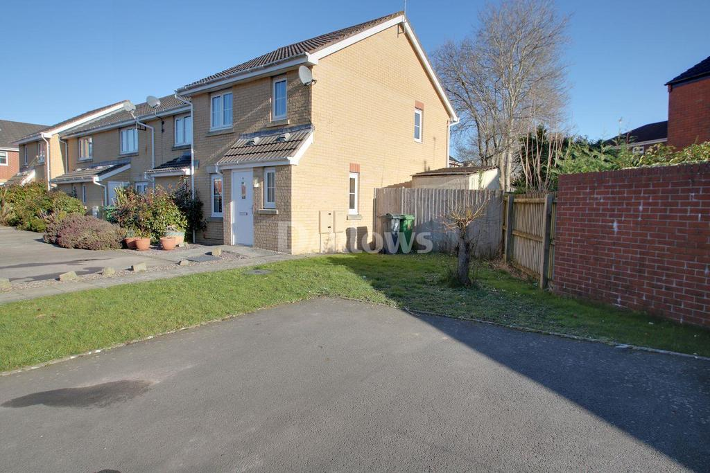 3 Bedrooms End Of Terrace House for sale in Willowbrook Gardens, St Mellons, Cardiff