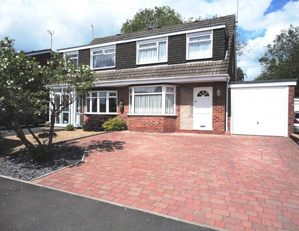 3 Bedrooms Semi Detached House for sale in Elmwood Drive, Blythe Bridge