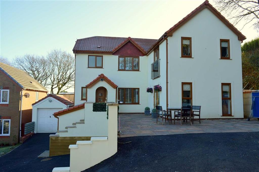 5 Bedrooms Detached House for sale in Ffordd Dryden, Killay, Swansea