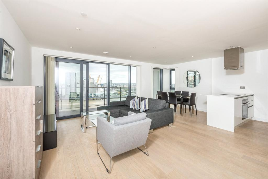 3 Bedrooms Apartment Flat for sale in Horizons, Yabsley Street, Canary Wharf, London, E14