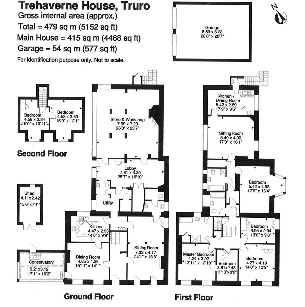Floorplan: Trehaverne House.jpg
