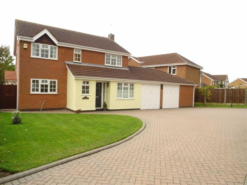 4 Bedrooms Detached House for sale in Broadsword Way, Burbage
