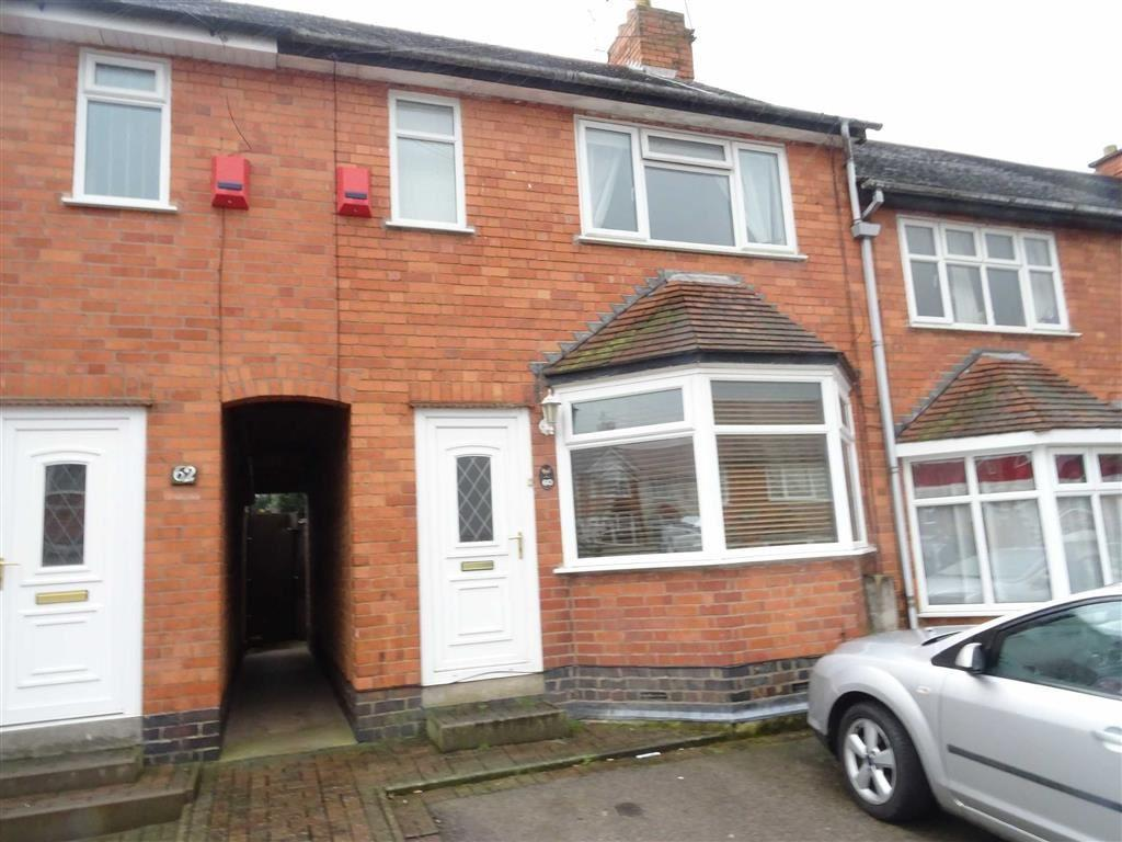 2 Bedrooms Terraced House for sale in Burleigh Road, Hinckley