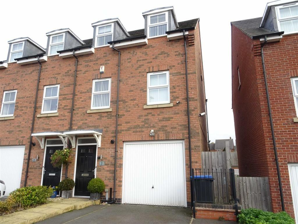 3 Bedrooms Semi Detached House for sale in Oaklands Drive, Earl Shilton
