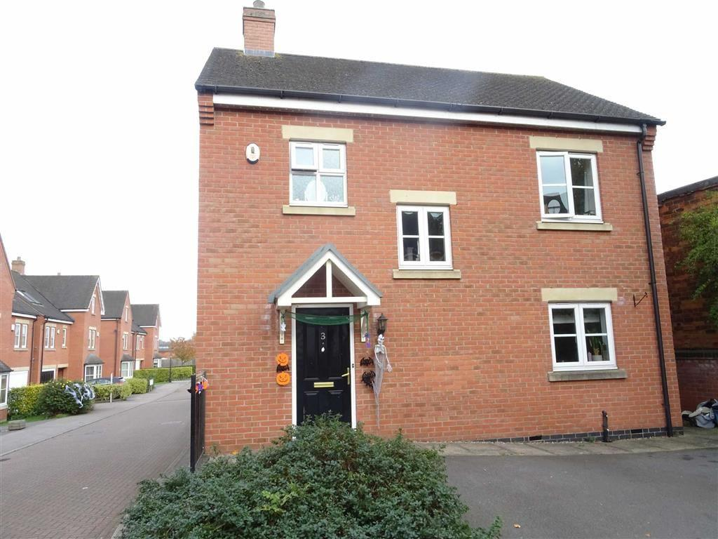 3 Bedrooms Detached House for sale in Bird Close, Earl Shilton