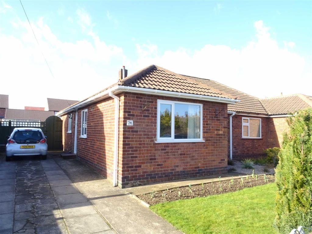 2 Bedrooms Semi Detached Bungalow for sale in St Martins Drive, Desford