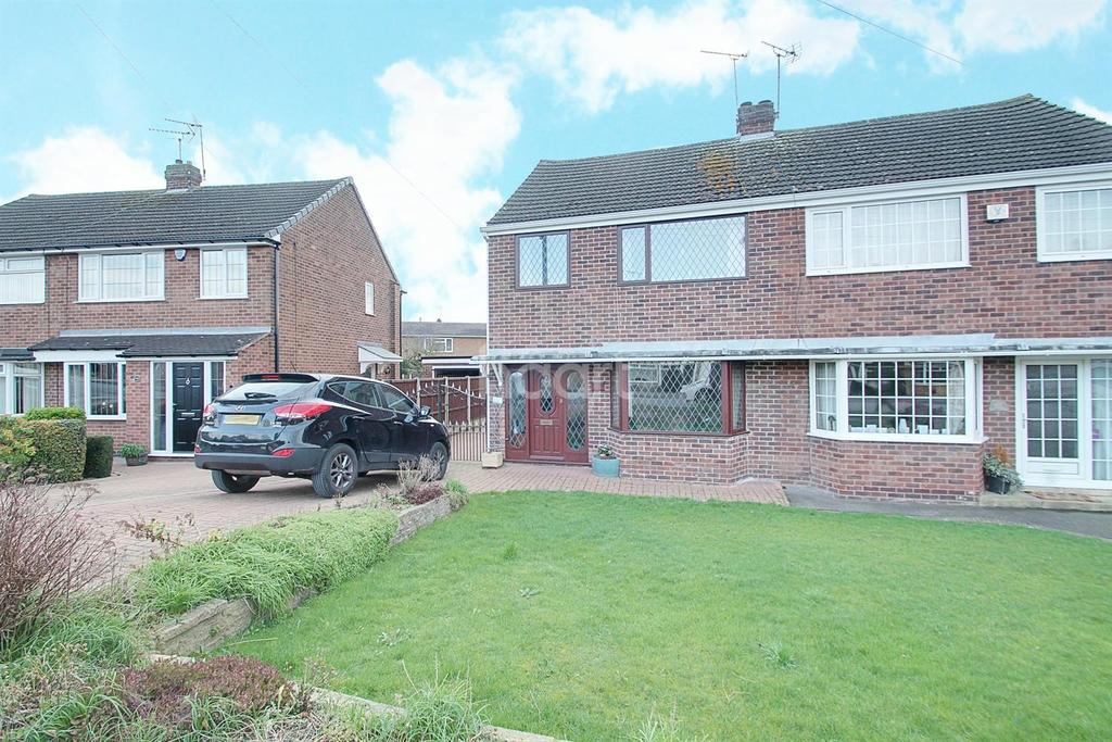 3 Bedrooms Semi Detached House for sale in Kimberley Road, Borrowash