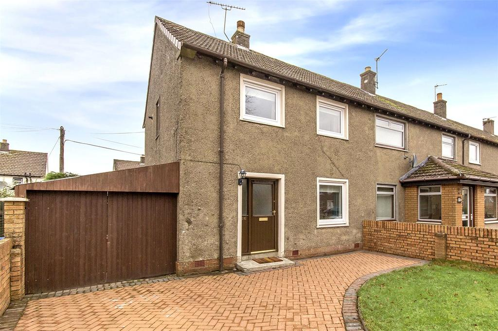 2 Bedrooms End Of Terrace House for sale in 66 Newpark Road, Stirling, Stirlingshire, FK7