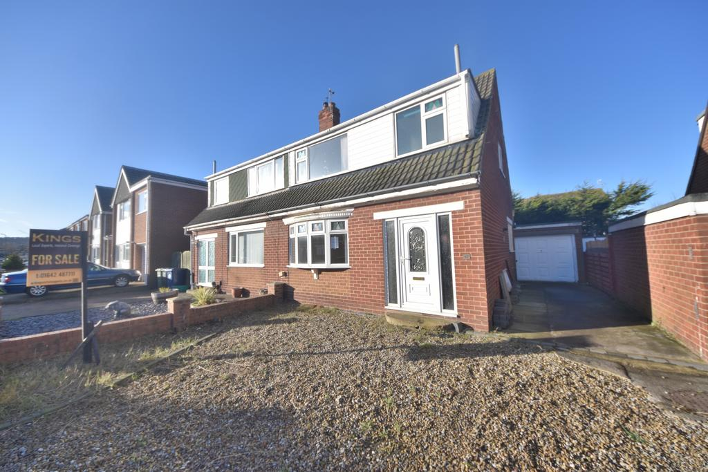 3 Bedrooms Semi Detached House for sale in Woodford Close, Marske TS11