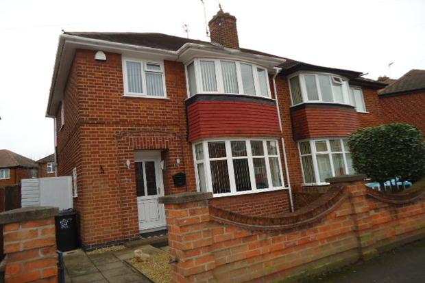 3 Bedrooms Semi Detached House for sale in Bembridge Road, off Anstey Lane, Leicester, LE3