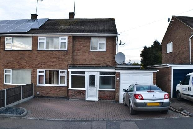 3 Bedrooms Semi Detached House for sale in Penryn Drive, Little Hill, Wigston, Leicester, LE18