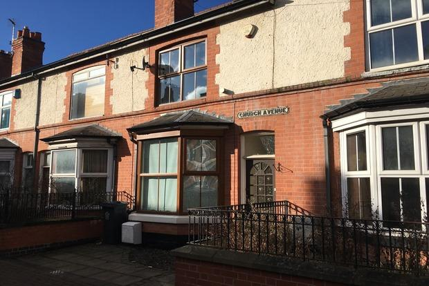 3 Bedrooms Terraced House for sale in Church Avenue, Western Park, Leicester, LE3