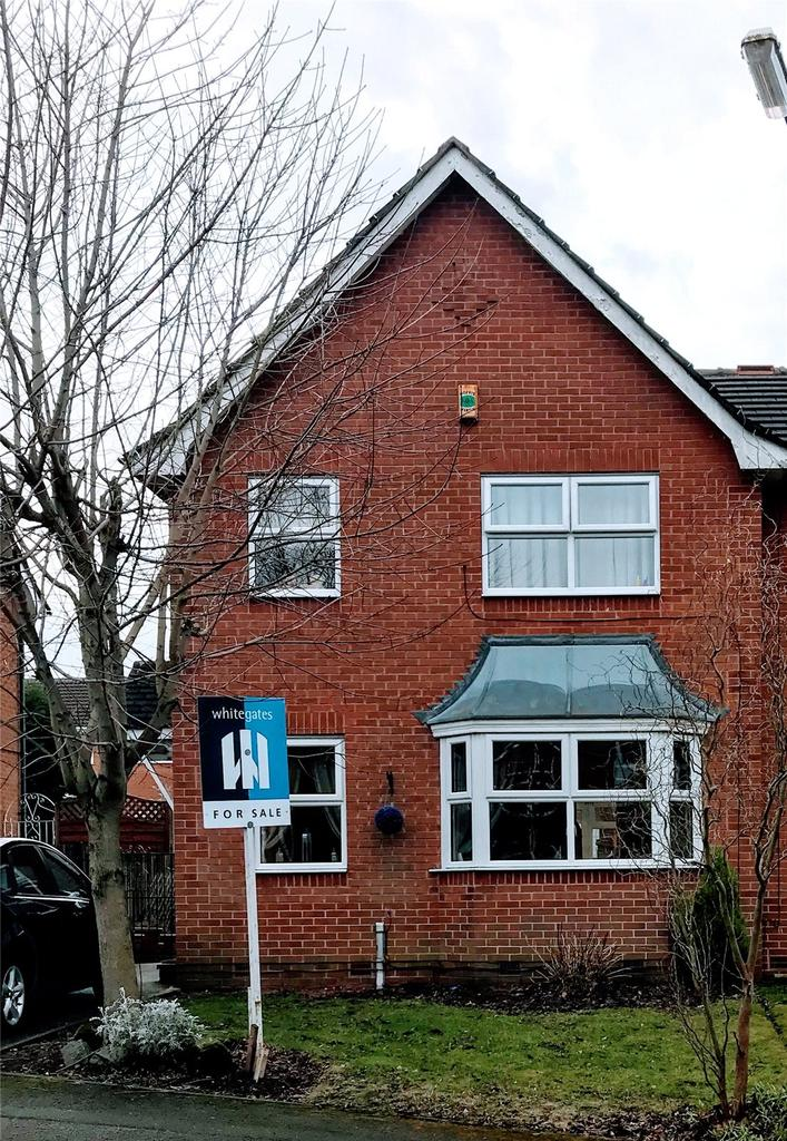 3 Bedrooms Semi Detached House for sale in Dunwoody Close, Mansfield, Nottinghamshire, NG18