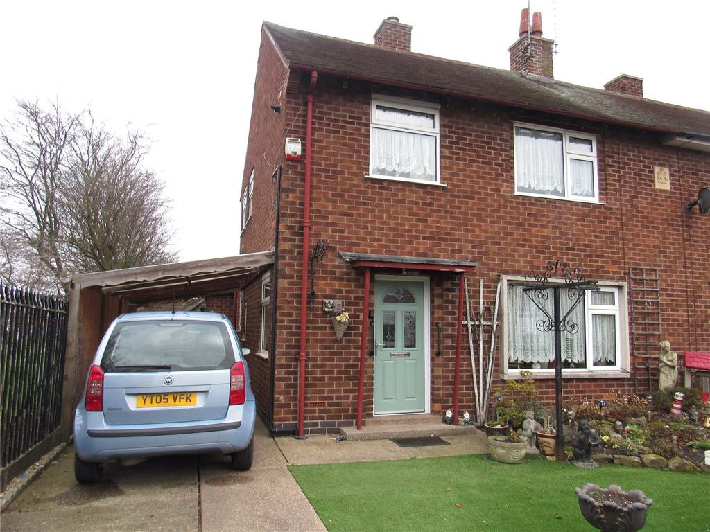 3 Bedrooms Semi Detached House for sale in Coxs Lane, Mansfield Woodhouse, Nottinghamshire, NG19
