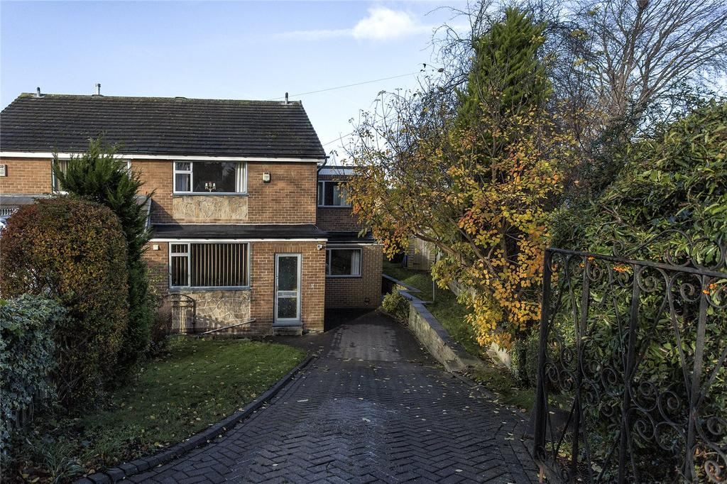 4 Bedrooms Semi Detached House for sale in Bracken Hill, Mirfield, West Yorkshire, WF14