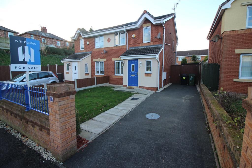 3 Bedrooms Semi Detached House for sale in Warrender Drive, Prenton, Merseyside, CH43