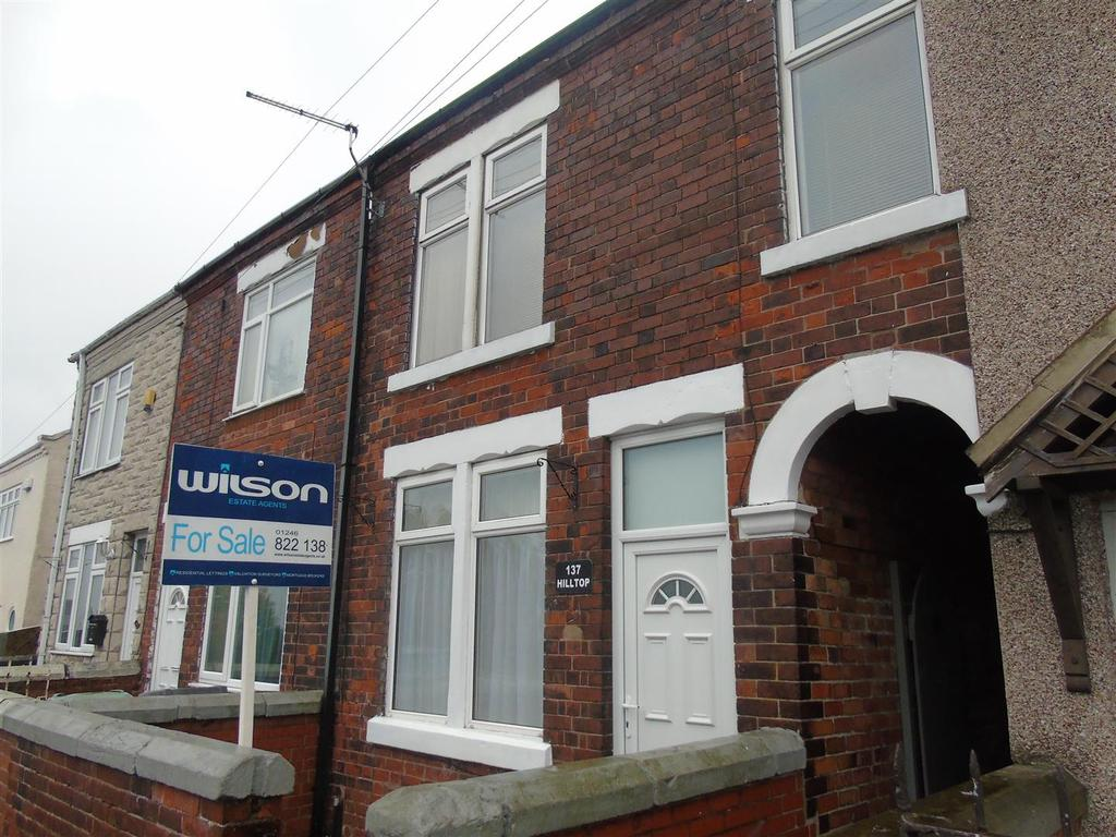 3 Bedrooms Terraced House for sale in Hill Top, Bolsover, Chesterfield