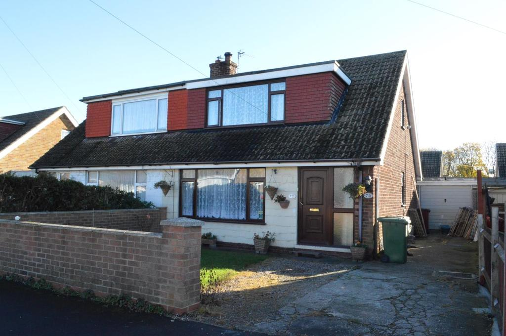 2 Bedrooms Semi Detached Bungalow for sale in Hawkins Way, South Killingholme, North East Lincolnshire, DN40