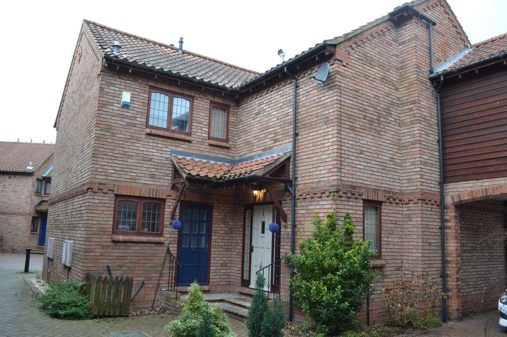 2 Bedrooms Terraced House for sale in Church Cottages, Station Road, Great Coates, North East Lincolnshire, DN37
