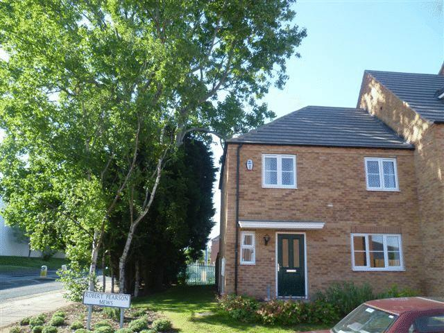 3 Bedrooms End Of Terrace House for sale in Robert Pearson Mews, Grimsby, North East Lincolnshire, DN32