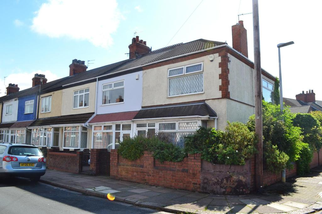 3 Bedrooms End Of Terrace House for sale in Bramhall Street, Cleethorpes, North East Lincolnshire, DN35