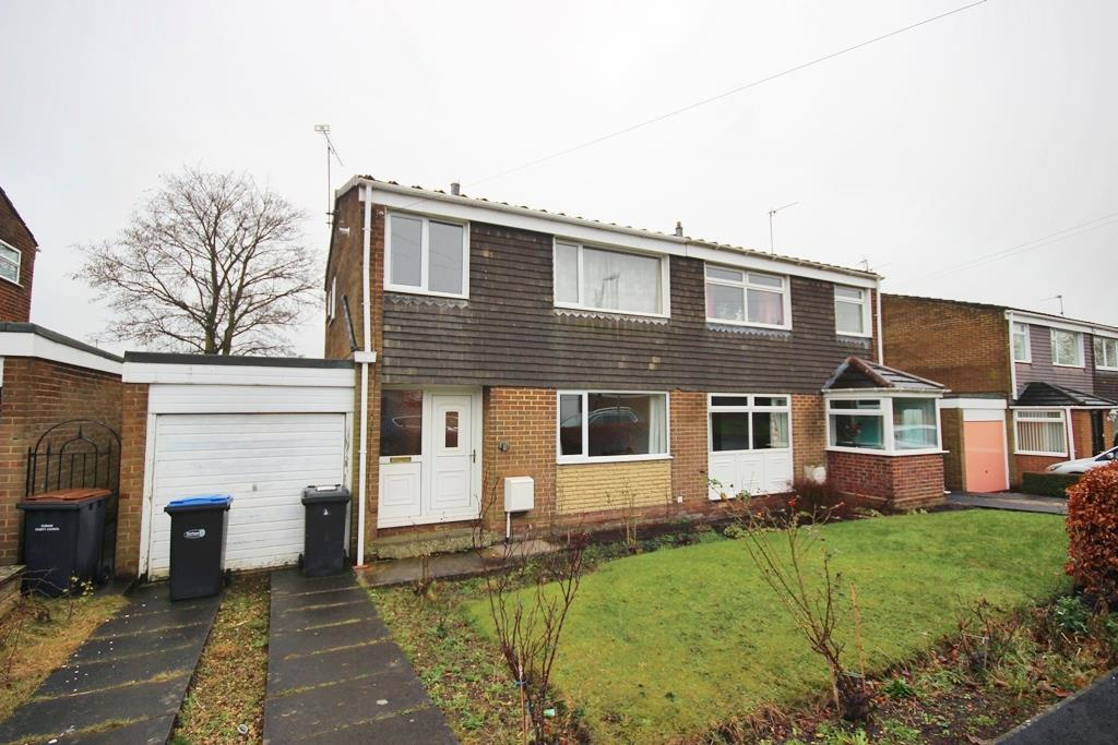 3 Bedrooms Semi Detached House for sale in Ashford Drive, Sacriston, Durham