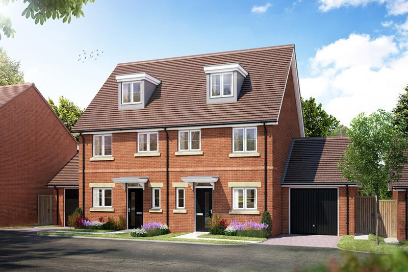 3 Bedrooms Semi Detached House for sale in Plots 51 and 52, Bayswater Fields, Headington, Oxford, Oxfordshire