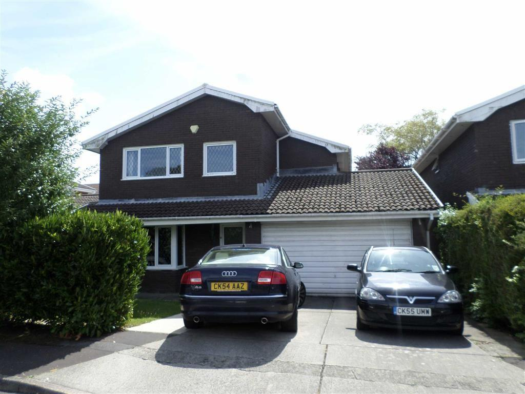 4 Bedrooms Detached House for sale in Millfield Close, Swansea, SA2