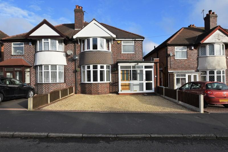 3 Bedrooms Semi Detached House for sale in Edward Road, Oldbury