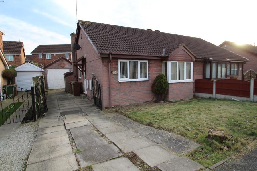 2 Bedrooms Bungalow for sale in BROOKSFIELD, SOUTH KIRKBY, PONTEFRACT, WF9 3DL