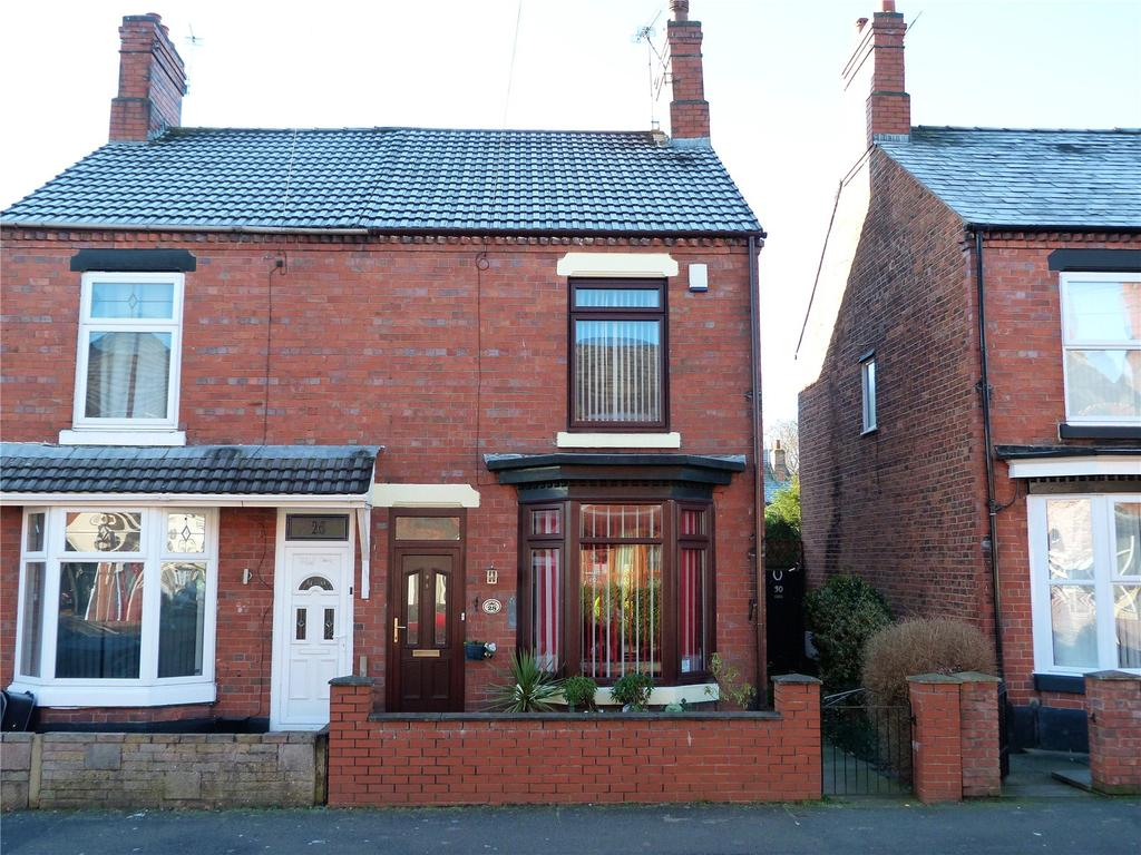 2 Bedrooms Semi Detached House for sale in Holland Street, Crewe, Cheshire, CW1