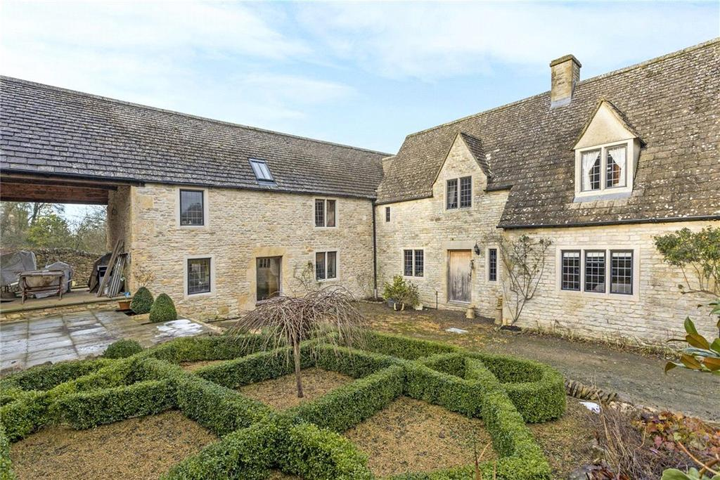4 Bedrooms Detached House for sale in Compton Abdale, Cheltenham, Gloucestershire, GL54